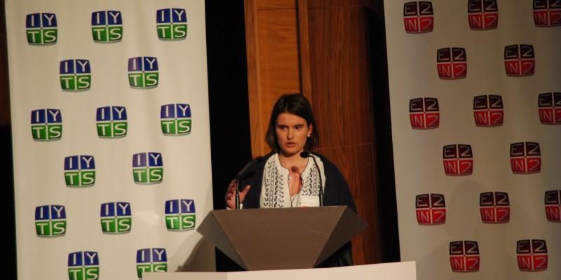Cristina Tobias conferencia IYTS I International Young Talent Seminar