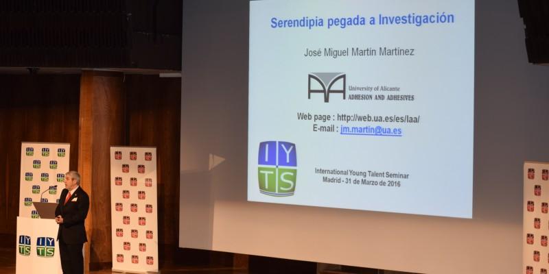 Jose Miguel Martin conferencia IYTS I International Young Talent Seminar