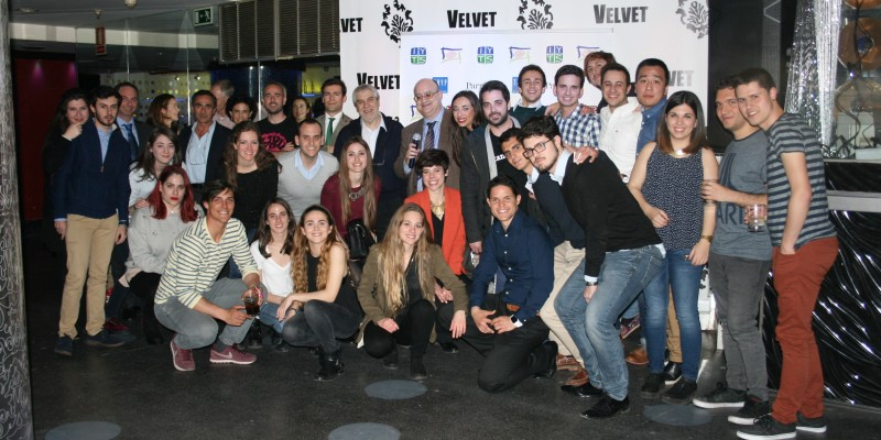 Asistentes de la Afterwork Talent Party Starmus Kampaii del IYTS I International Young Talent Seminar