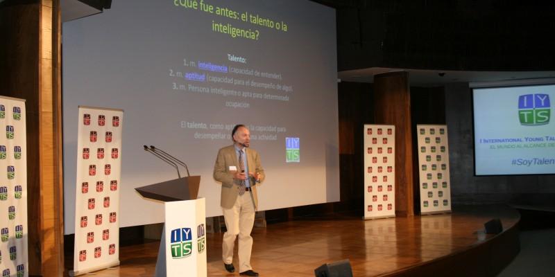 Manuel Dominguez Rodrigo conferencia IYTS I International Young Talent Seminar