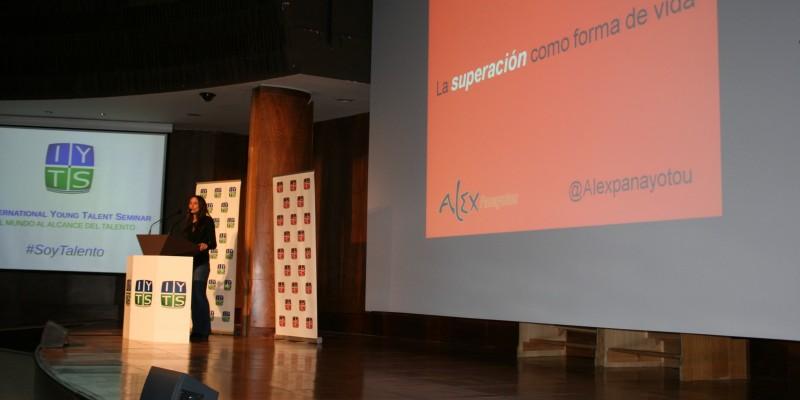 Alexandra Panayotou conferencia IYTS I International Young Talent Seminar