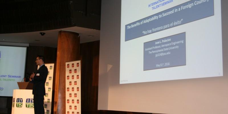 Jose Palacios conferencia IYTS I International Young Talent Seminar