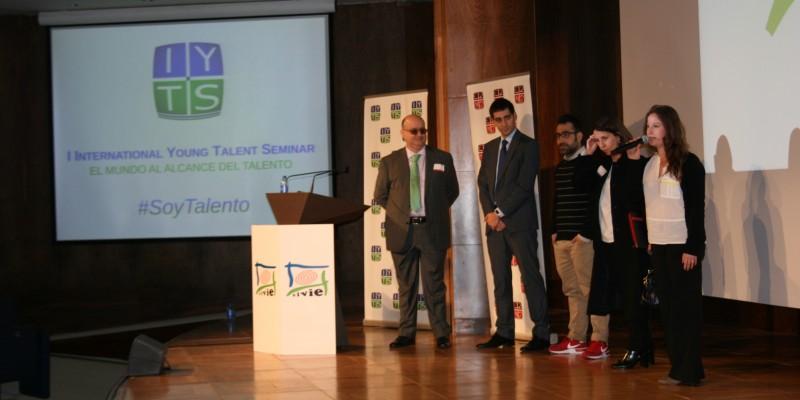 Reconocimiento emprendedores IYTS International Young Talent Seminar