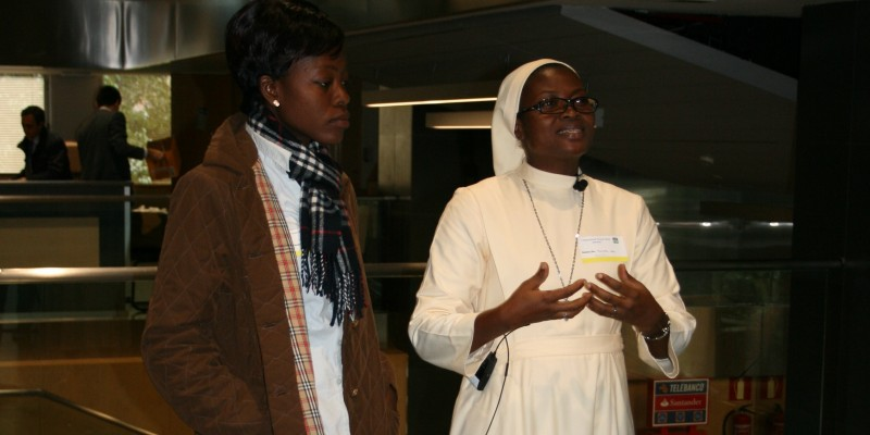 Asistentes Benin país invitado al I International Young Talent Seminar IYTS