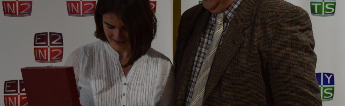 #IYTestimonioS: Cristina Tobías visita E2IN2